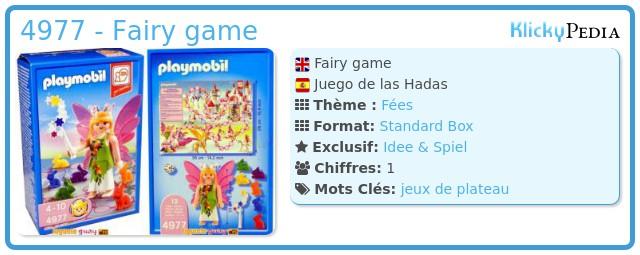 Playmobil 4977 - Fairy game