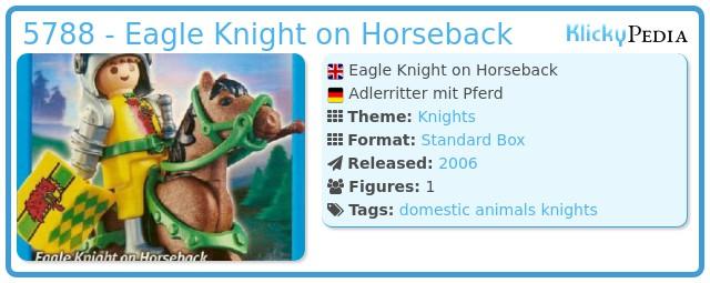 Playmobil 5788 - Eagle Knight on Horseback