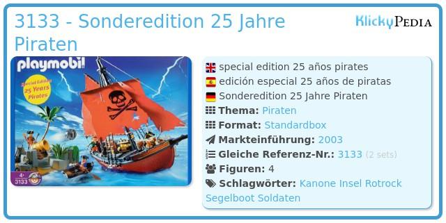 Playmobil 3133 - Sonderedition 25 Jahre Piraten