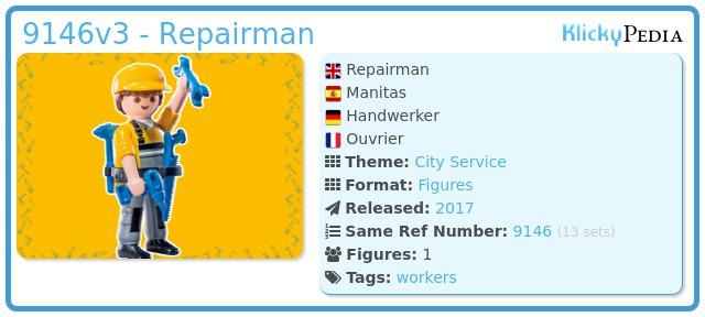 Playmobil 9146v3 - Repairman