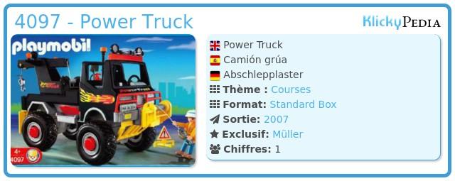 Playmobil 4097 - Power Truck