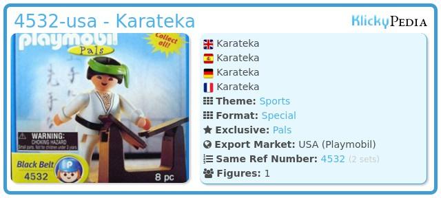 Playmobil 4532-usa - Karateka