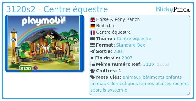 Playmobil 3120s2 - Horse & Pony Ranch