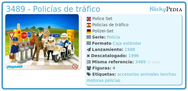 Playmobil 3489 - Policías de tráfico