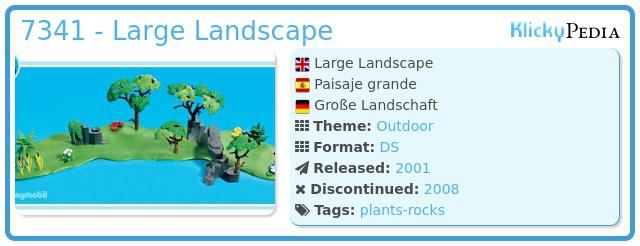 Playmobil 7341 - Large Landscape