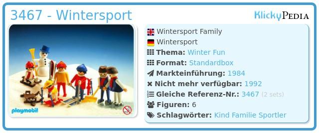 Playmobil 3467 - Wintersport