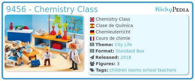 Playmobil 9456 - Chemistry Class