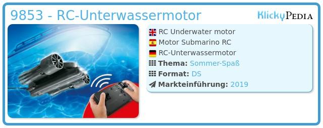Playmobil 9853 - RC-Unterwassermotor