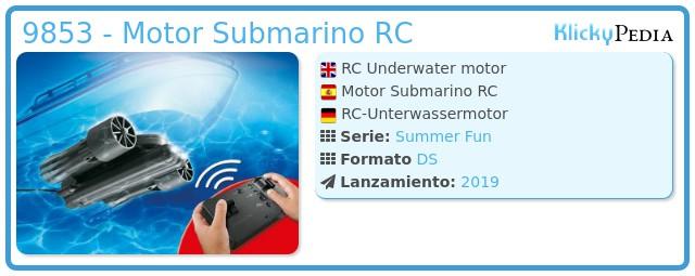 Playmobil 9853 - RC Underwater motor