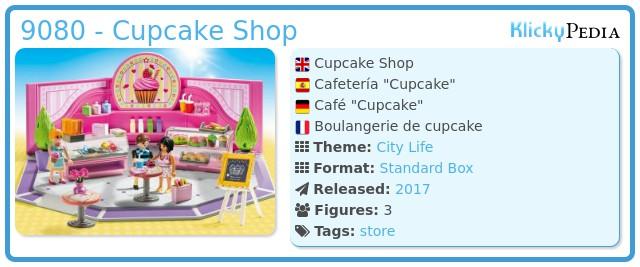 Playmobil 9080 - Cupcake Shop
