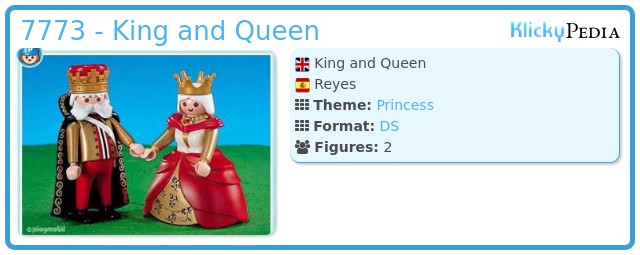 Playmobil 7773 - King and Queen