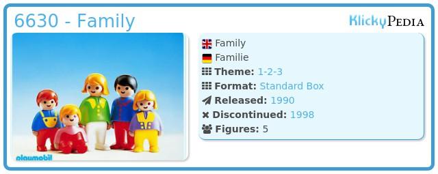 Playmobil 6630 - Family