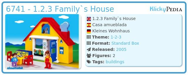 Playmobil 6741 - 1.2.3 Family`s House