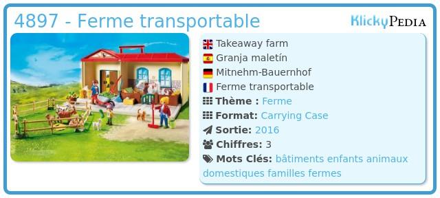 Playmobil 4897 - Ferme transportable