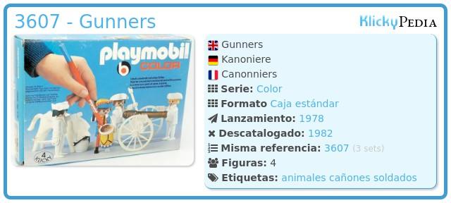 Playmobil 3607 - Gunners