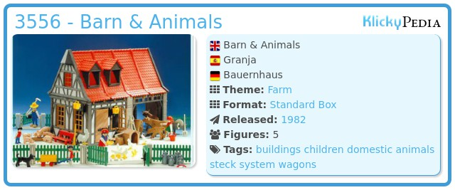 Playmobil 3556 - Barn & Animals