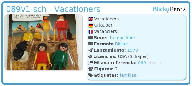 Playmobil 089v1-sch - Vacationers