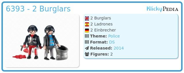 Playmobil 6393 - 2 Burglars