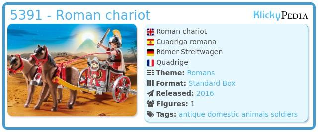 Playmobil 5391 - Roman chariot