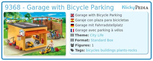 Playmobil 9368 - Garage with Bicycle Parking