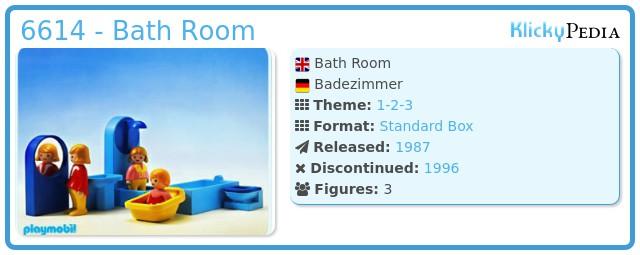 Playmobil 6614 - Bath Room