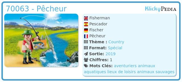 Playmobil 70063 - Pêcheur