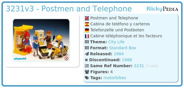 Playmobil 3231v3 - Post office