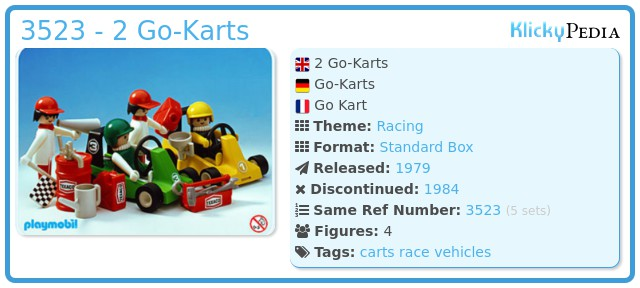 Playmobil 3523 - 2 Go-Karts