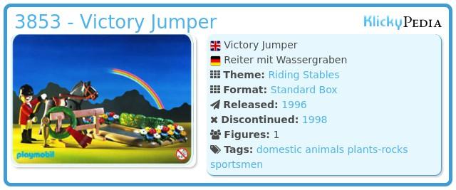 Playmobil 3853 - Victory Jumper