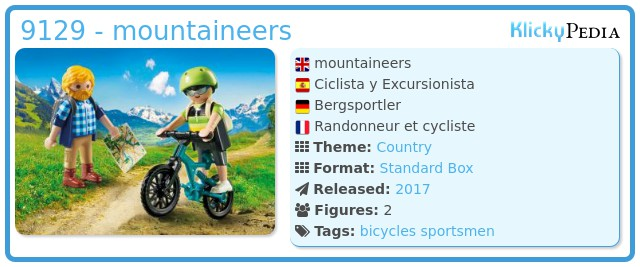 Playmobil 9129 - mountaineers