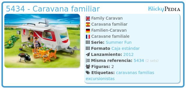 Playmobil 5434 - Caravana familiar