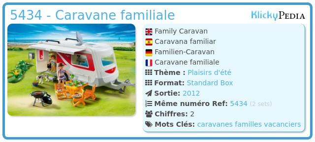 Playmobil 5434 - Caravane familiale