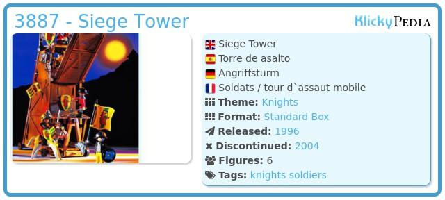Playmobil 3887 - Siege Tower