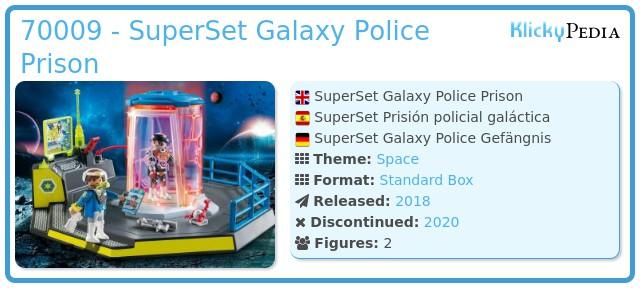 Playmobil 70009 - SuperSet Galaxy Police Prison