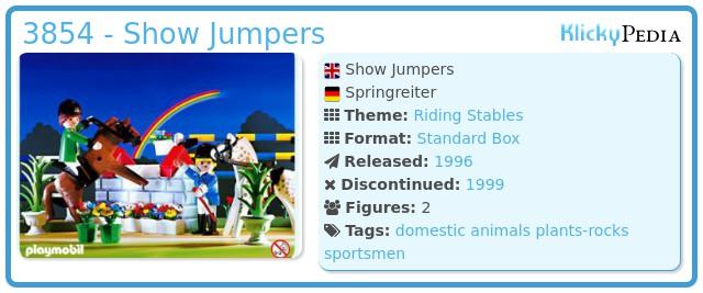 Playmobil 3854 - Jocky Team