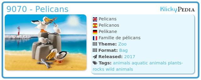Playmobil 9070 - Pelicans