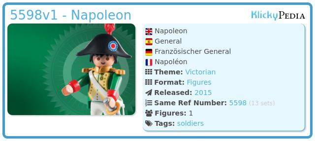 Playmobil 5598v1 - Napoleon
