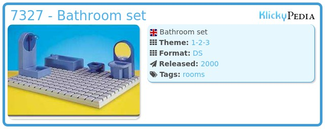Playmobil 7327 - Bathroom set