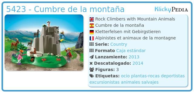 Playmobil 5423 - Cumbre de la montaña
