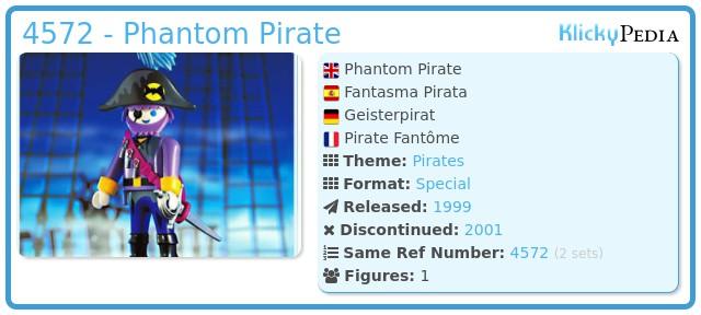 Playmobil 4572 - Phantom Pirate