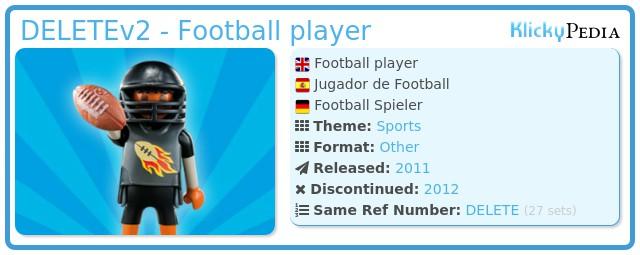 Playmobil 5203v2 - Football player