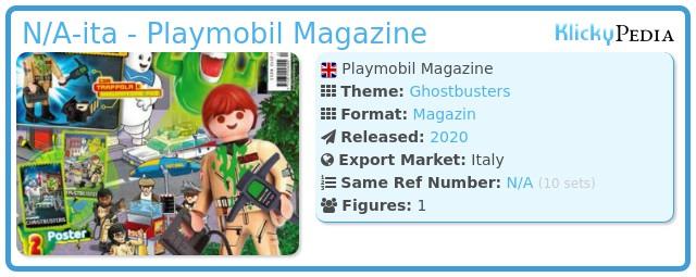 Playmobil N/A-ita - Playmobil Magazine