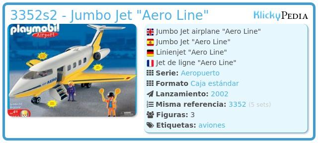 Playmobil 3352s2 - Jumbo Jet