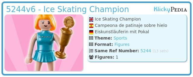 Playmobil 5244v6 - Ice Skating Champion