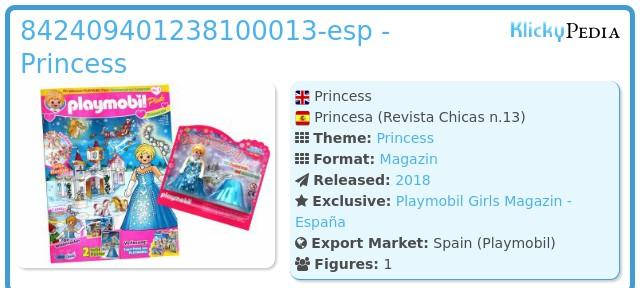 Playmobil 842409401238100013-esp - Princess