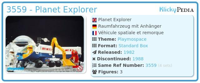 Playmobil 3559 - Planet Explorer