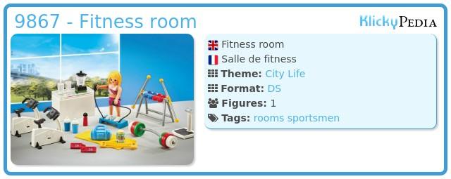 Playmobil 9867 - Fitness room
