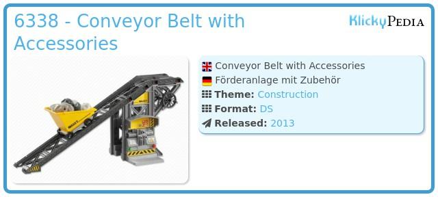 Playmobil 6338 - Conveyor Belt with Accessories
