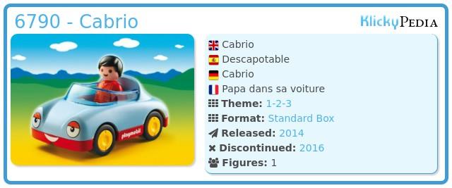 Playmobil 6790 - Cabrio