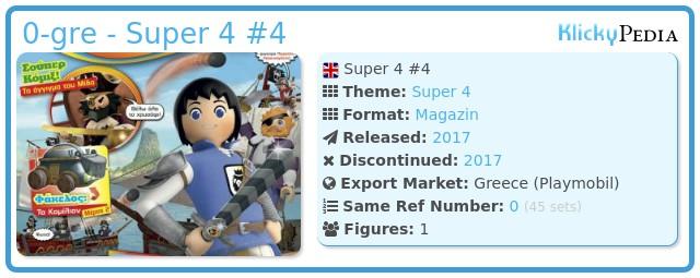 Playmobil 0-gre - Super 4 #4